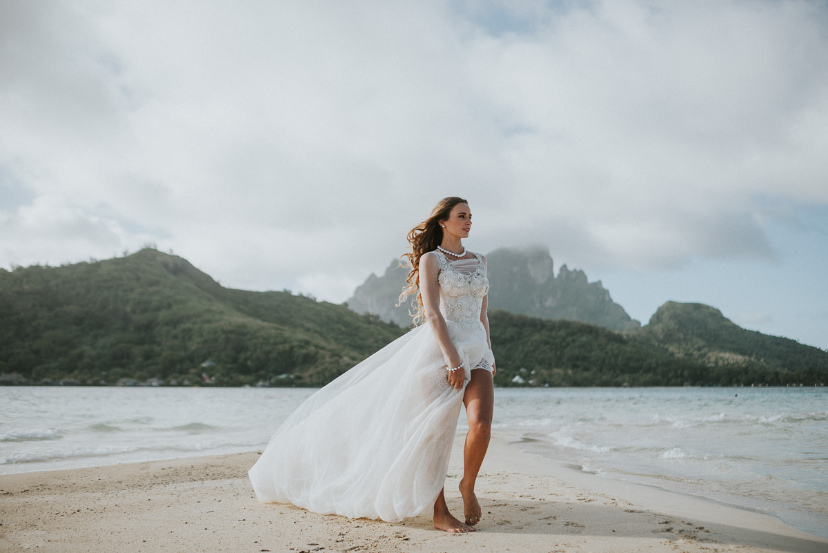 bora bora destination wedding photographer