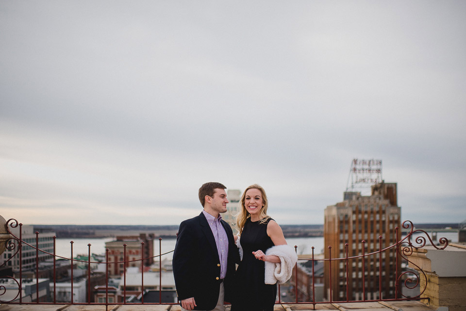 memphis engagement photography