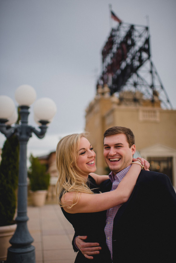 peabody hotel engagement session