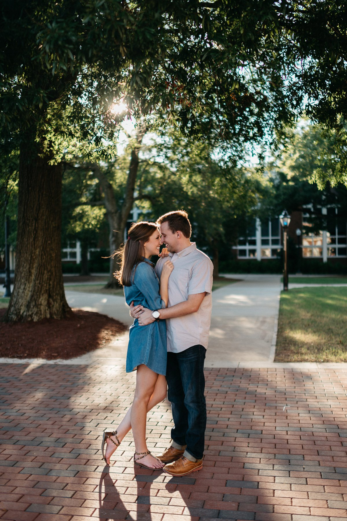hail state mississippi engagement photography