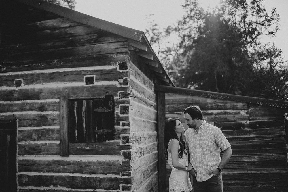 Faulkner's Oxford Mississippi Engagement Photography