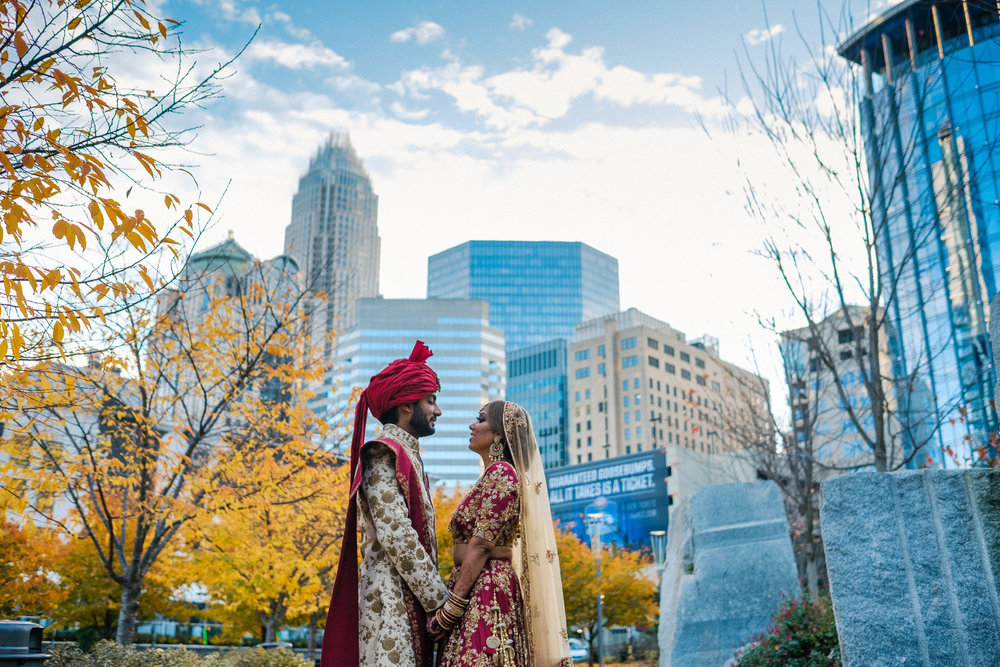 Destination indian wedding in charlotte NC