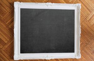 1057 Cadres blanc à tableau noir / White Chalkboard Frame 2