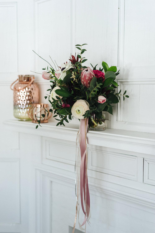 1187    Vase ombré rose gold / Rose Gold Ombre Candle Holders    4