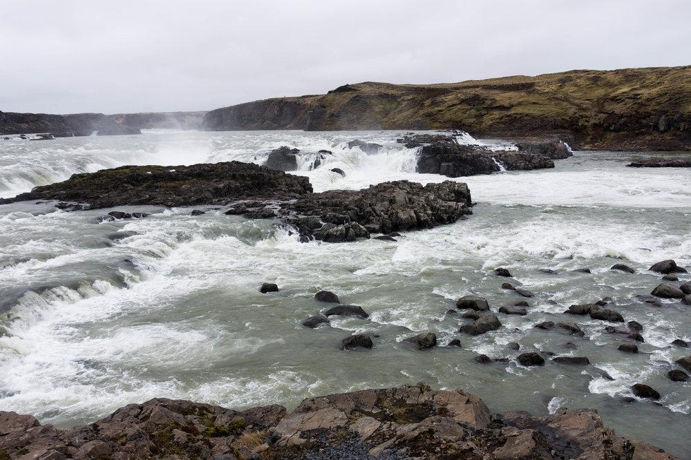 Iceland's most voluminous waterfall -Urriðafoss