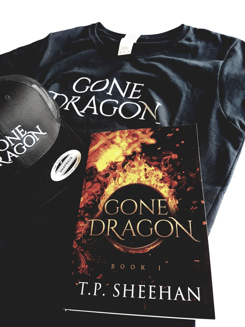 Win another Gone Dragon book, cap and t-shirt!