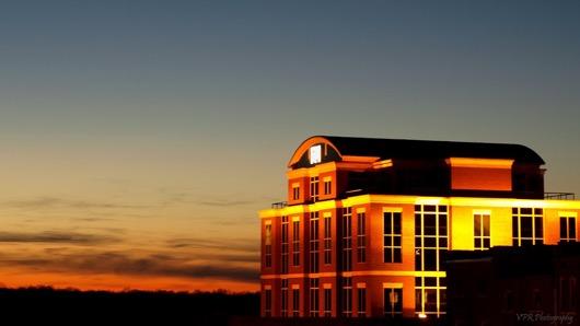 Evening festivities will be held in top floor of F&M Bank in downtown Clarksville, TN.