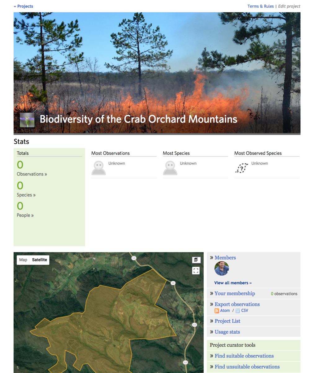 Create a custom iNaturalist Project to document the Biodiversity of Coal Creek Farm -