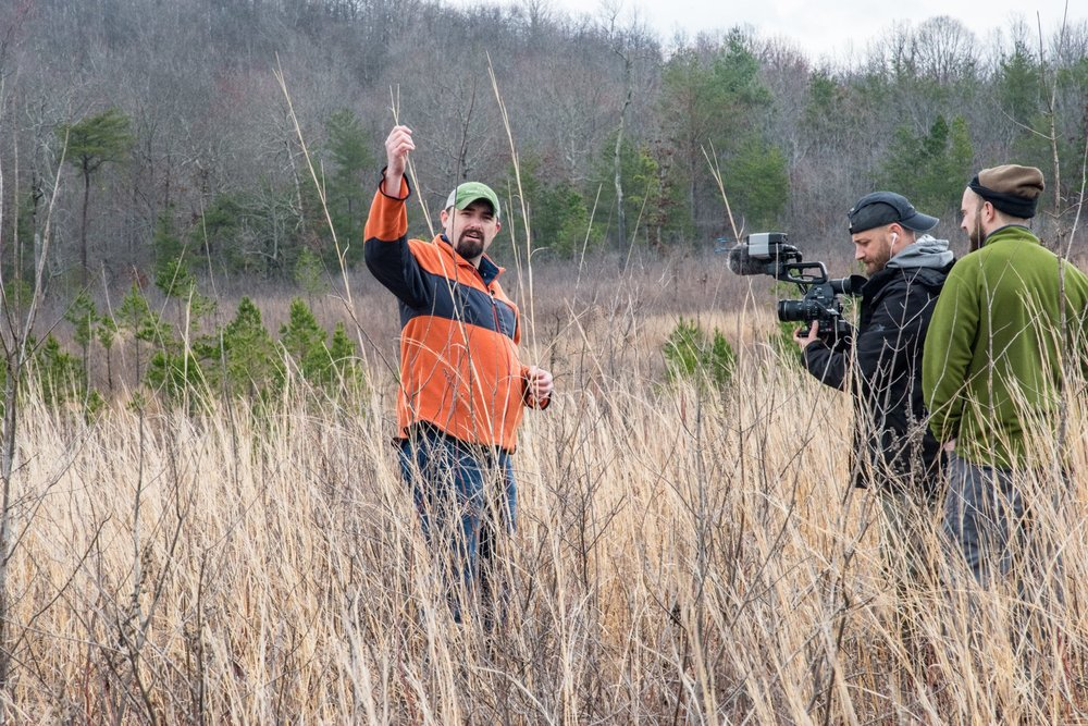 Work to tell the story of Cumberland Plateau Conservation via documentaries, interviews, social media, blogs -