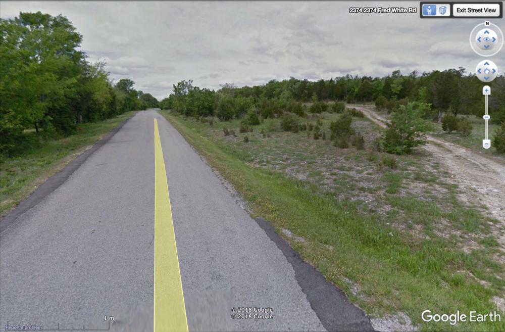 Limestone Glade Grassland by Road