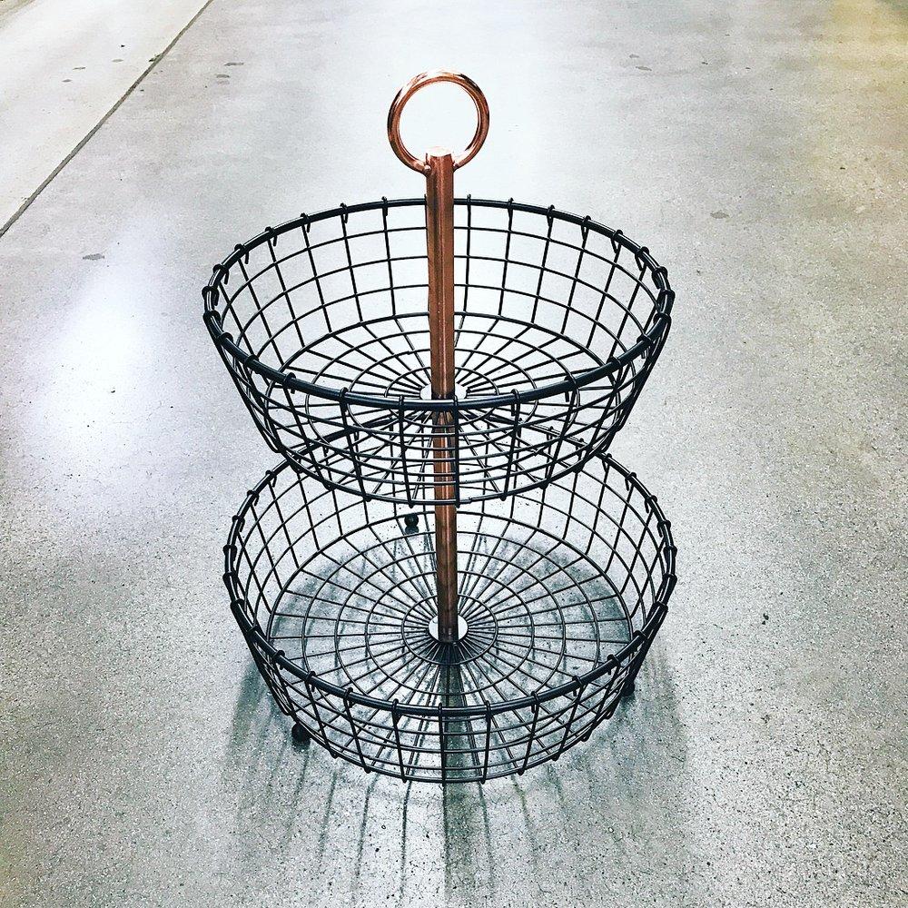 2-Tier Basket — Sam\'s Simple Savings
