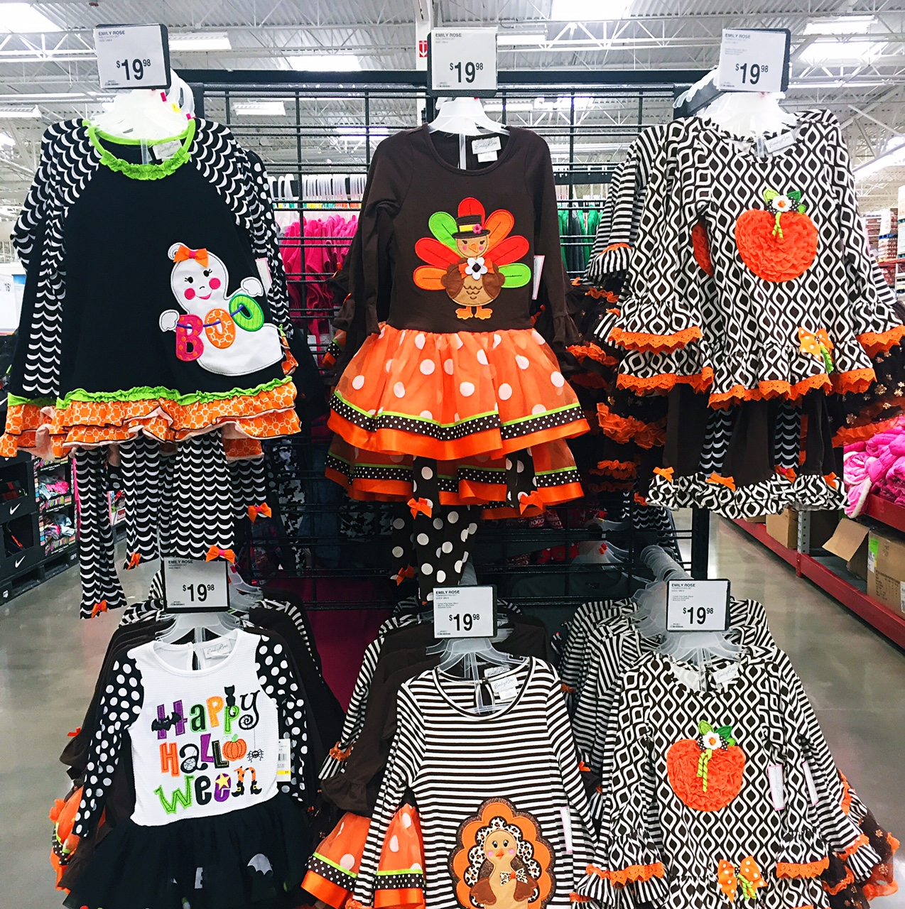 87d6d6efe5081 Girls Halloween/ Thanksgiving Outfits — Sam's Simple Savings