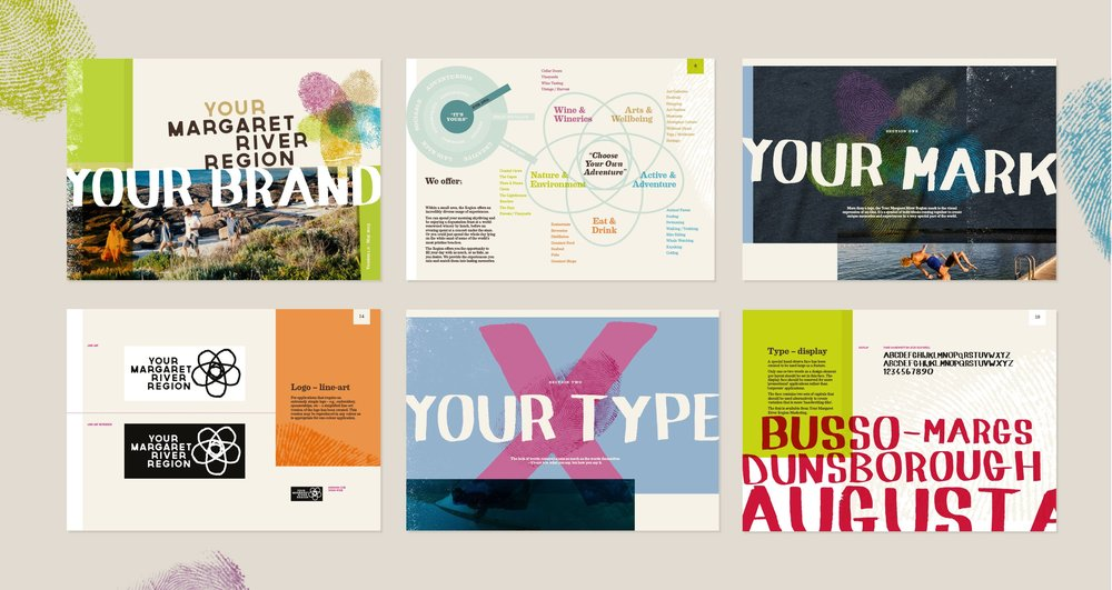 A comprehensive Brand Blueprint brings together the organisation's values, purpose and identity guidelines.