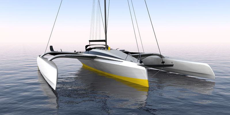 R42 High Performance Grainger trimaran.