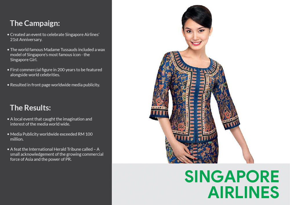 analysis on singapore airlines Singapore airlines is a well established flag carrier of singapore which represents as an hallmark of singapore's long history of advancement.