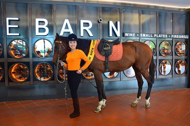 Here at GO, we either go big or go home with our ideas. So we brought our mane attraction, Barnabus to visit the launch of The BARN Wine Bar's brand new outlet at CITTA Mall! #GoTeamGo #onthego #communications #publicrelations #pr #digitalmarketing #malaysia #kualalumpur #work #agencylife