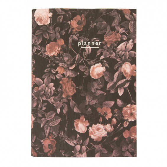 A5 ARDEN ROSE LINEN NOTEBOOK - A5 in size, complete with planner pages and a wonderful linen cover, it's the perfect notebook. Perfect for:- Mums- Students- Keepin' it classy at work- The Blogger