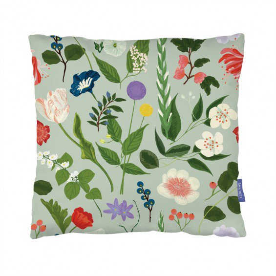 Floral Cushion  by Anne Olde Kalter
