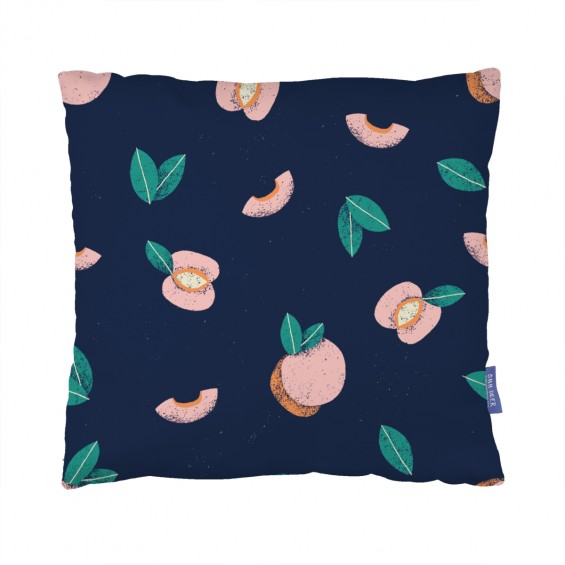 Peaches Cushion  by Sanneeiting