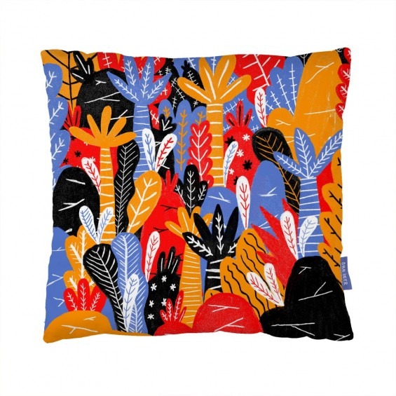 That Jungle Feeling Cushion  By Jaybarnham