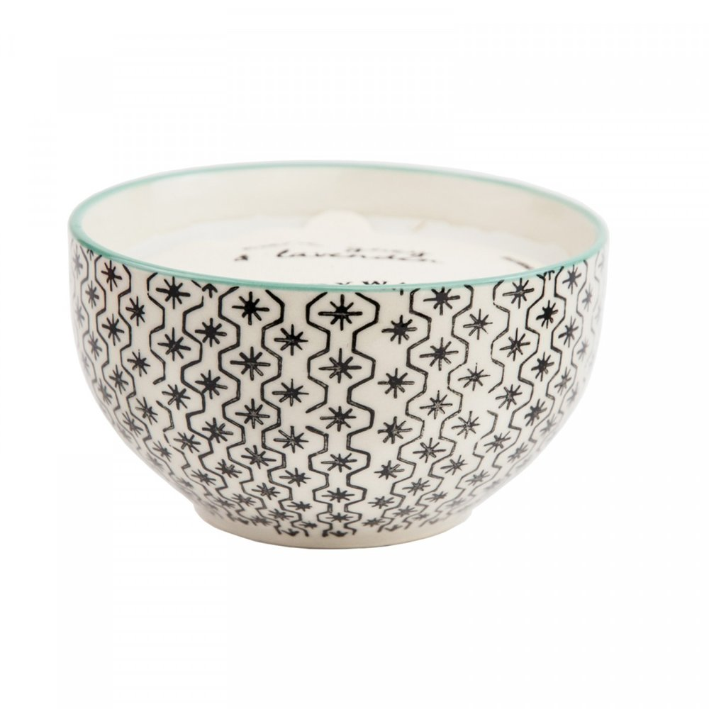 Earl Grey & Lavendar Candle - Likes a good ol' Yankee candle? Pft, we have a much better version! This delicious example uses soy wax and you can even use the bowl afterwards! Multi-functional.