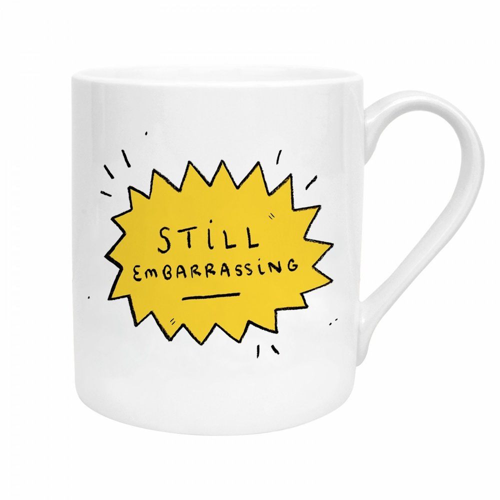 STILL EMBARRASSING MUG - Just say it how it is to be honest.