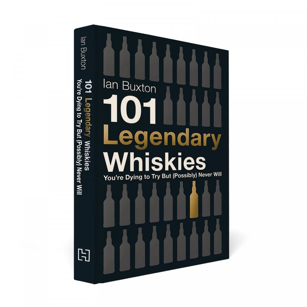 101 LEGENDARY WHISKIES - How about instead of buying ANOTHER sports car, he could maybe take up reading? But not like boring reading, alcohol themed reading.