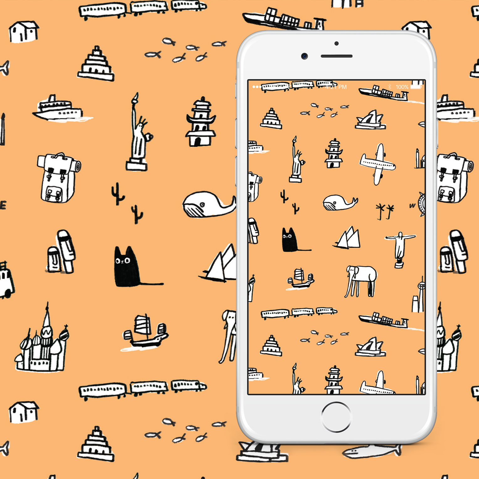 Wallpaper Of The Month July Ohh Deer Blog