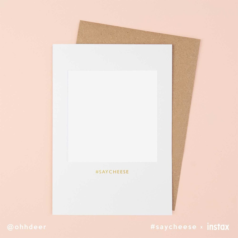 A6 Portrait Card Template -