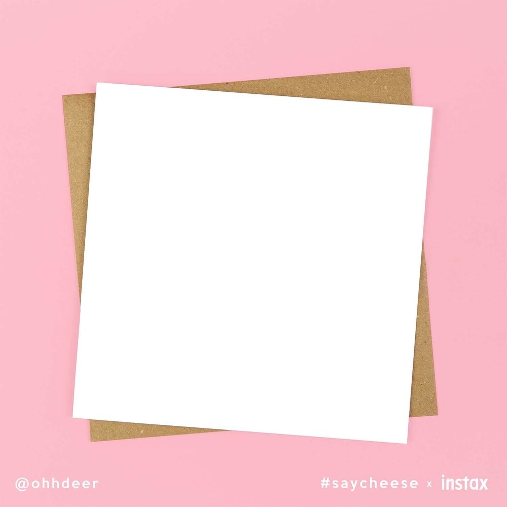 Square Card Template -