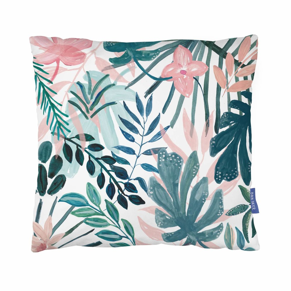 MARZIA BEACH BOTANICALS CUSHION - This soft botanical cushion design will match almost any interior style and sofa! Your mum is sure to love this one, when she finally sits down after a long day. If this cushion takes your fancy - click the photo! If you're in the mood for more cushions - smash that button below!