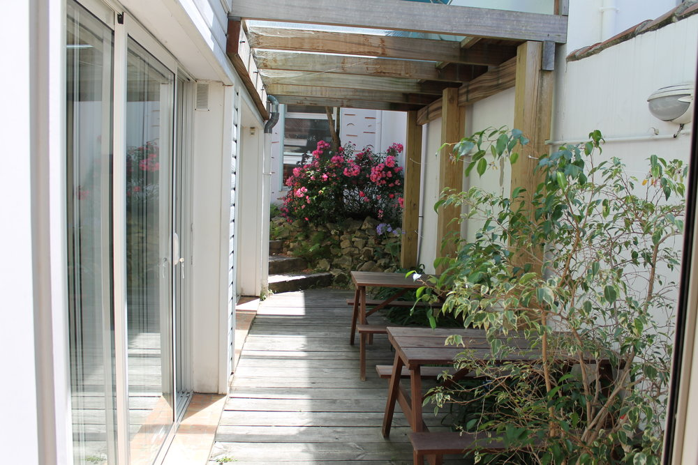 surf camp biarritz studio avec terrasse