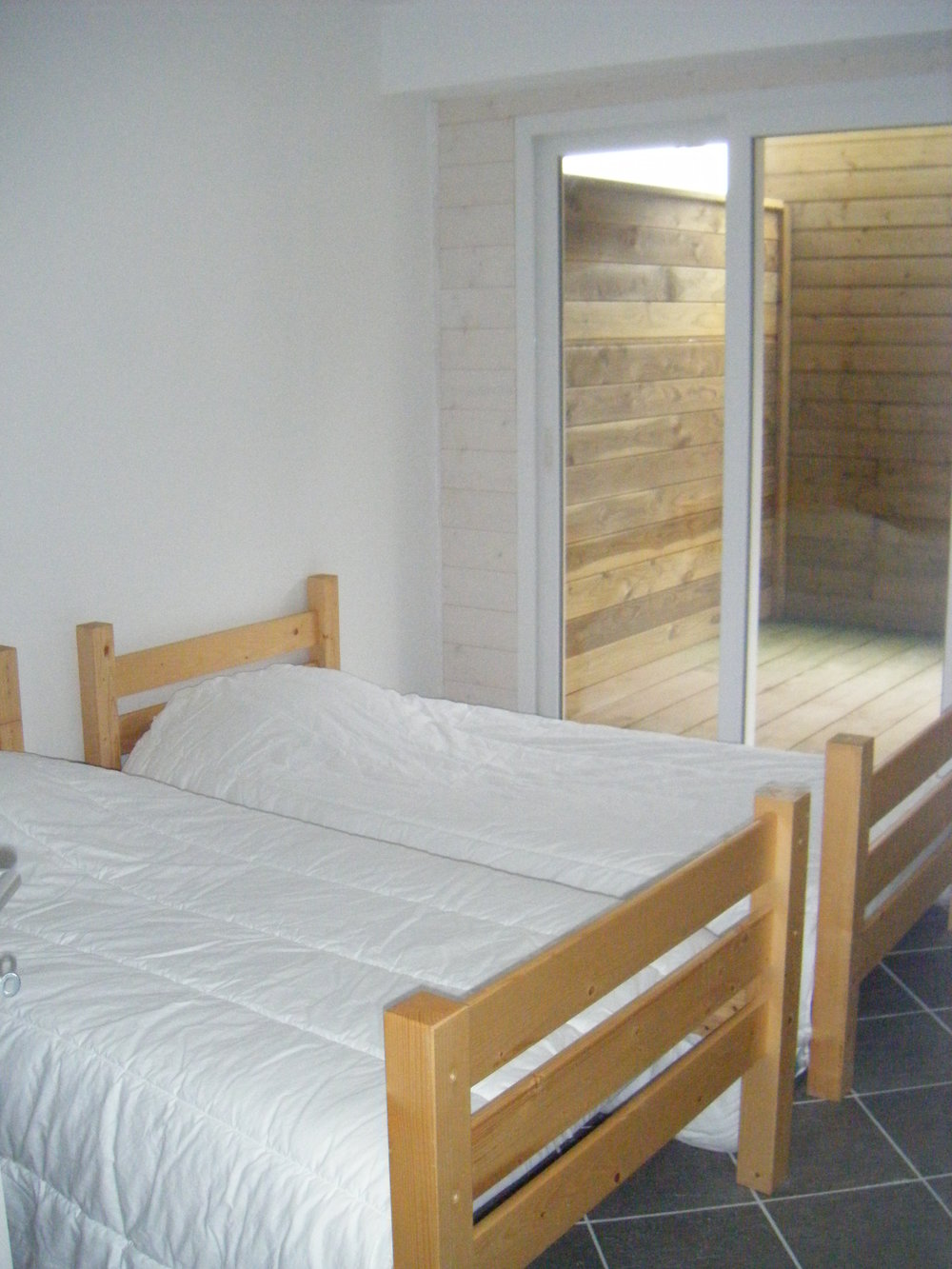 Biarritz Surf Camp, 3 rooms flat - beds