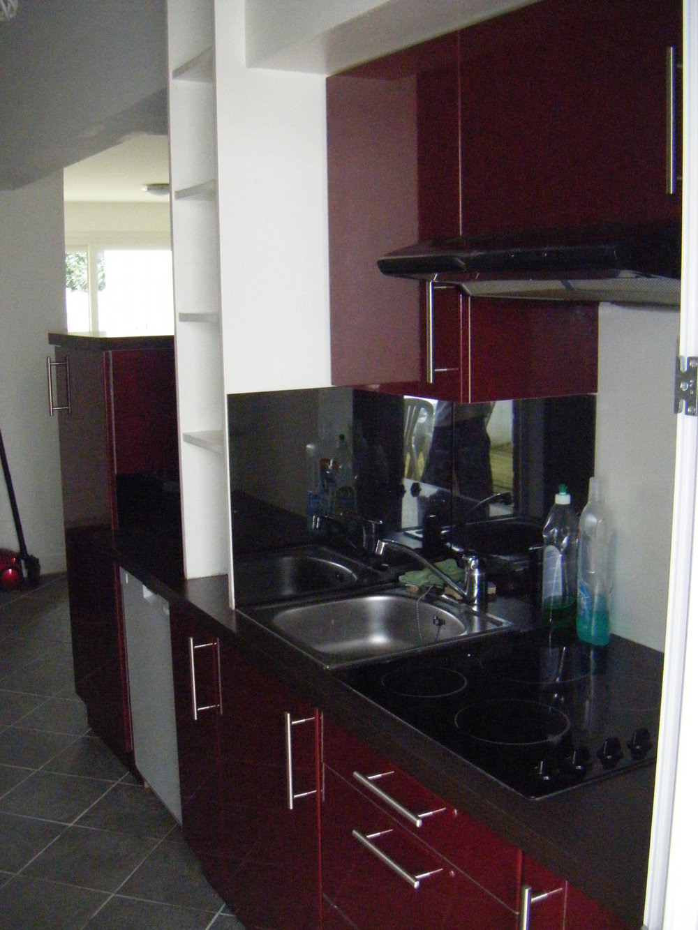 Biarritz Surf Camp, 3 rooms flat - kitchen