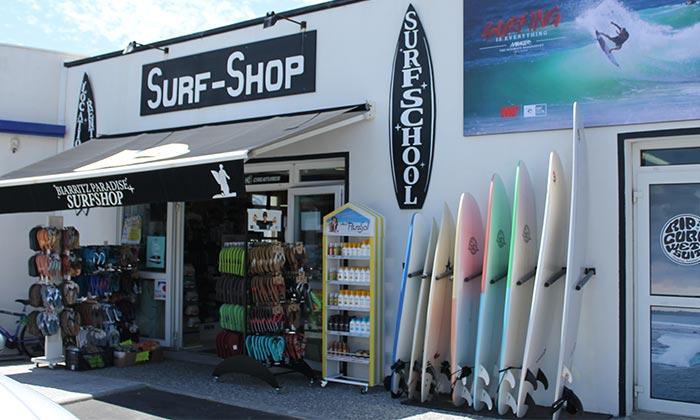 location & surf shop - Louez du matériel de surf adapté à votre niveau à la journée ou à la semaineEn Savoir Plus