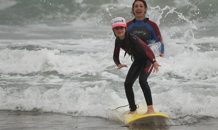 cours de surf: DÉBUTANT – INTERMÉDIAIRE -