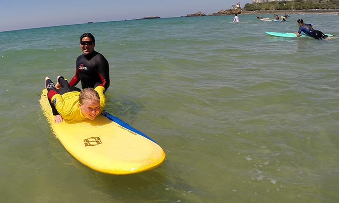 private SURf lessons -
