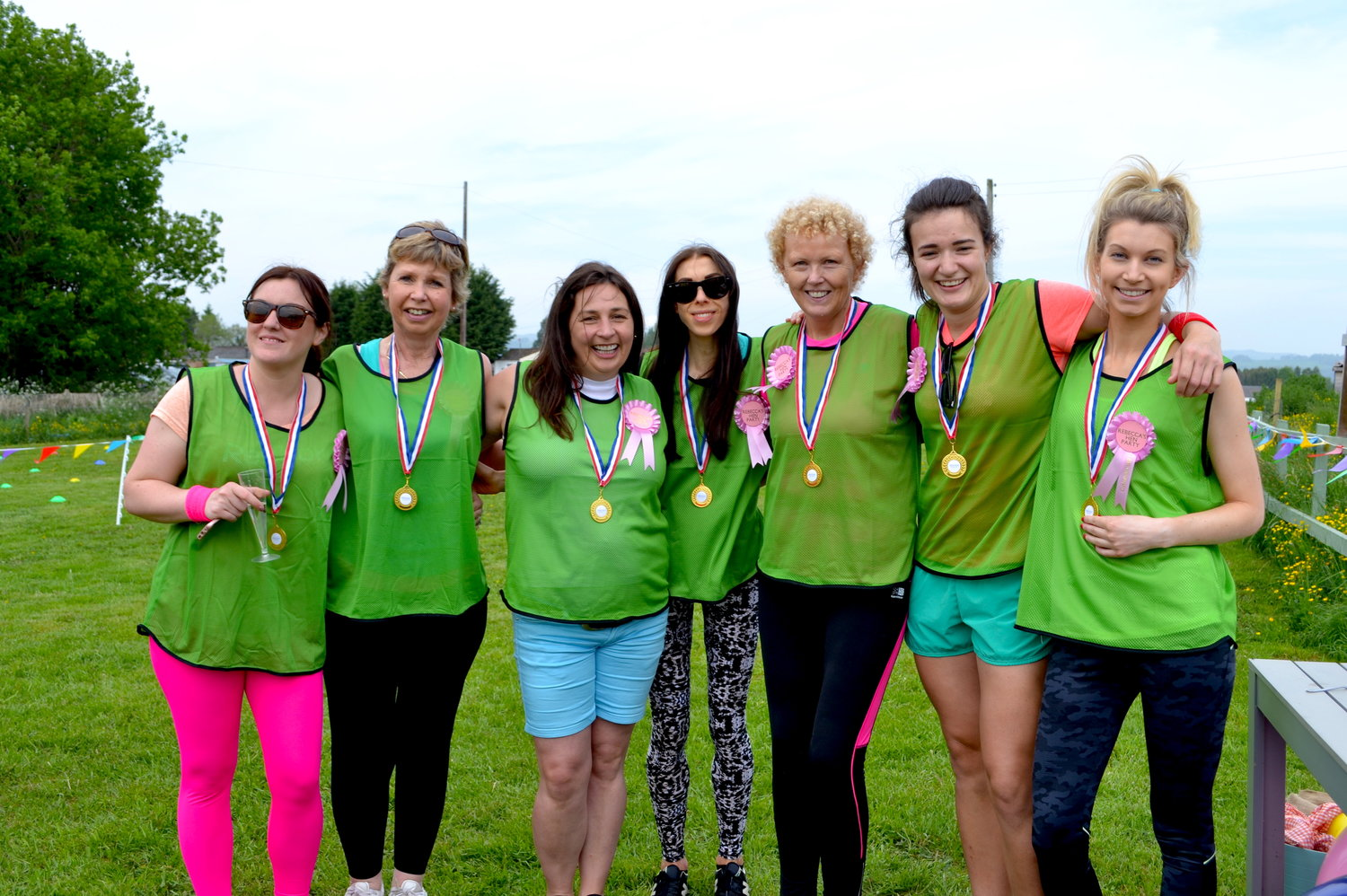 Hen party field day rebecca winning teamg solutioingenieria Image collections
