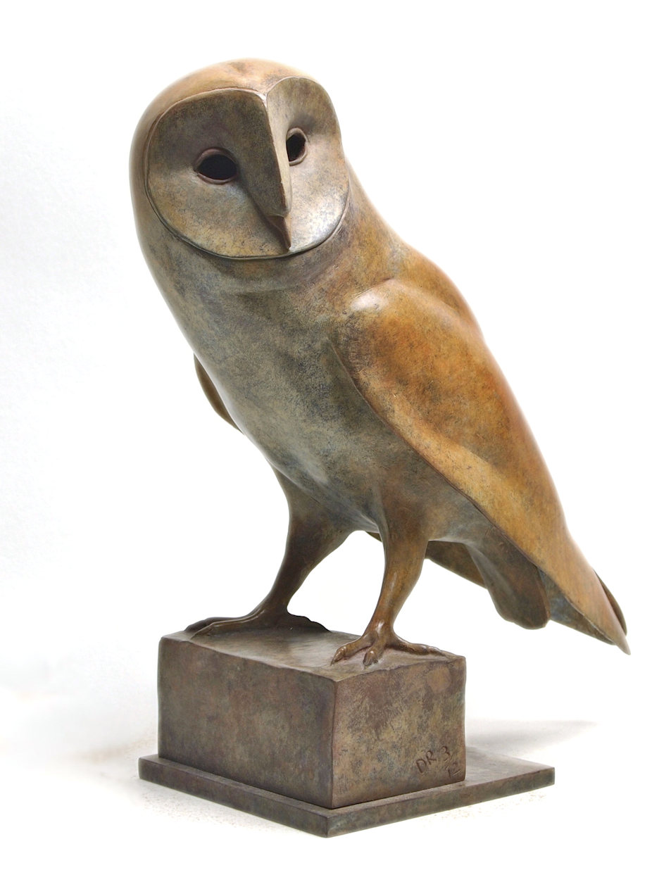 damien rochford Bronze Barn Owl 04 web.jpg