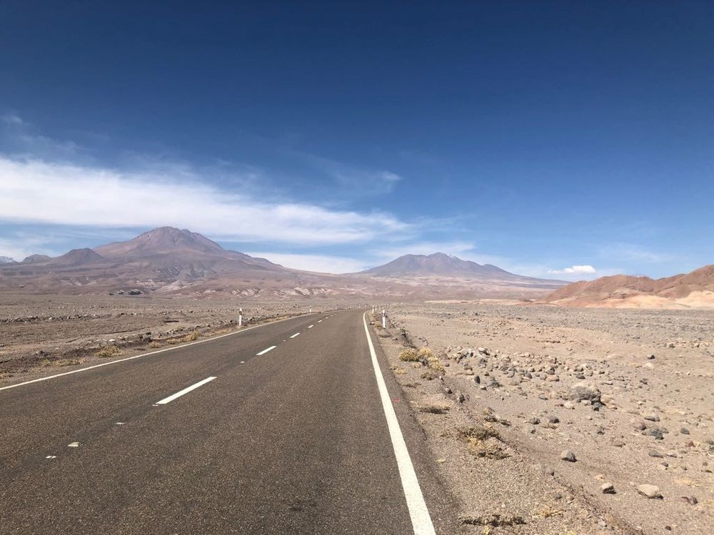 Atacama desert in Chile, photographed by Amanda von Almassy.