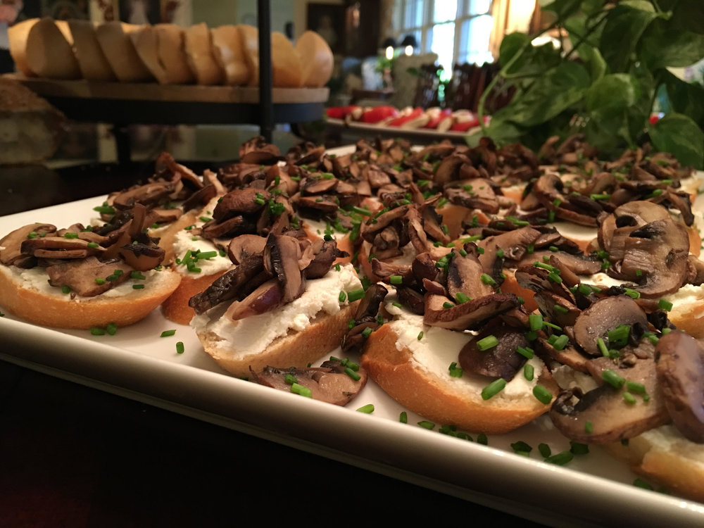 LUXE Catering Tallahassee Florida Crostini