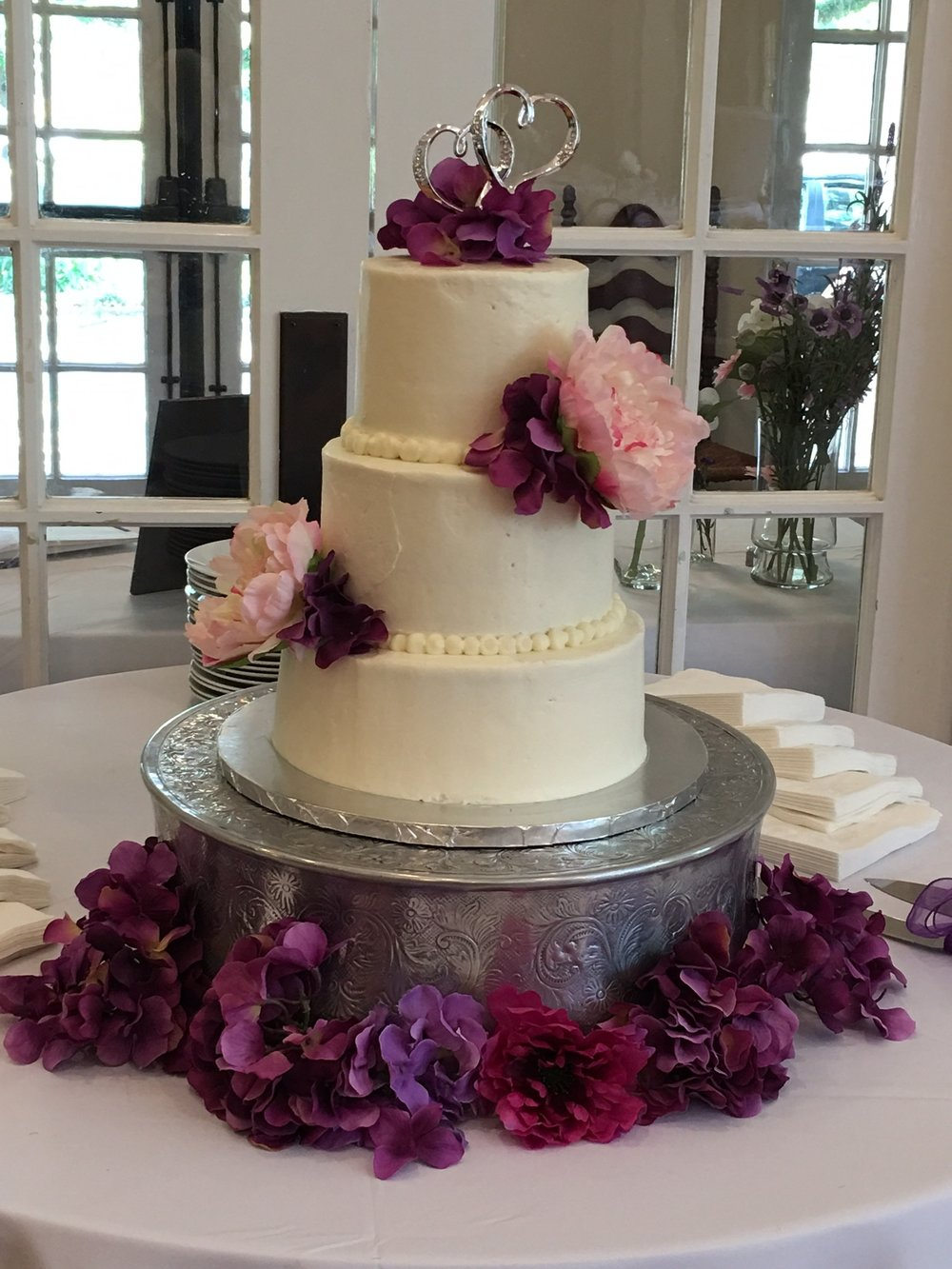 LUXE Catering Tallahassee Florida Wedding Cake