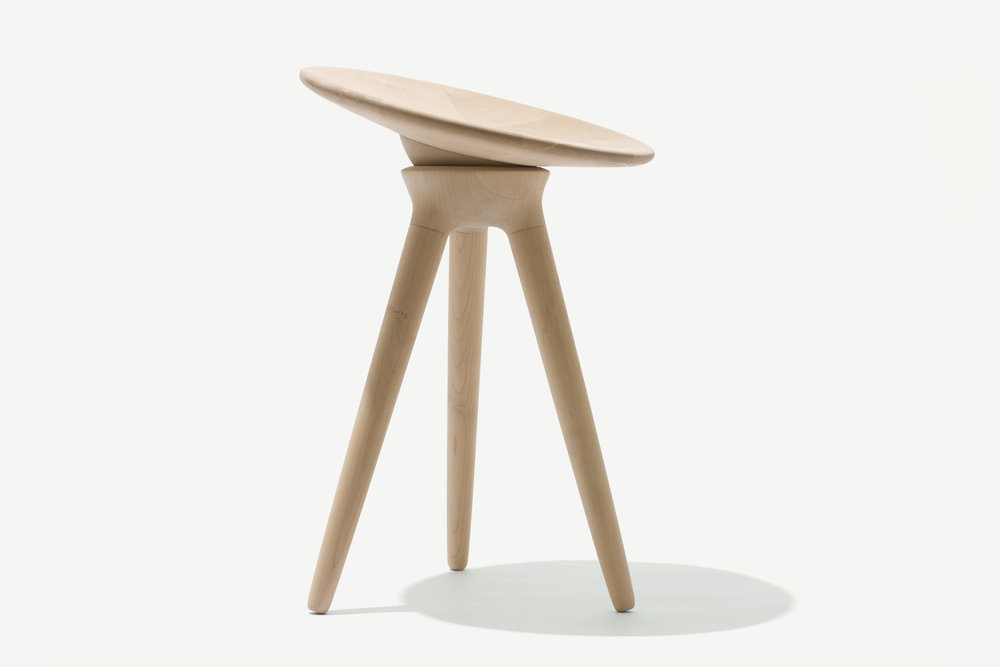 Maple stool -