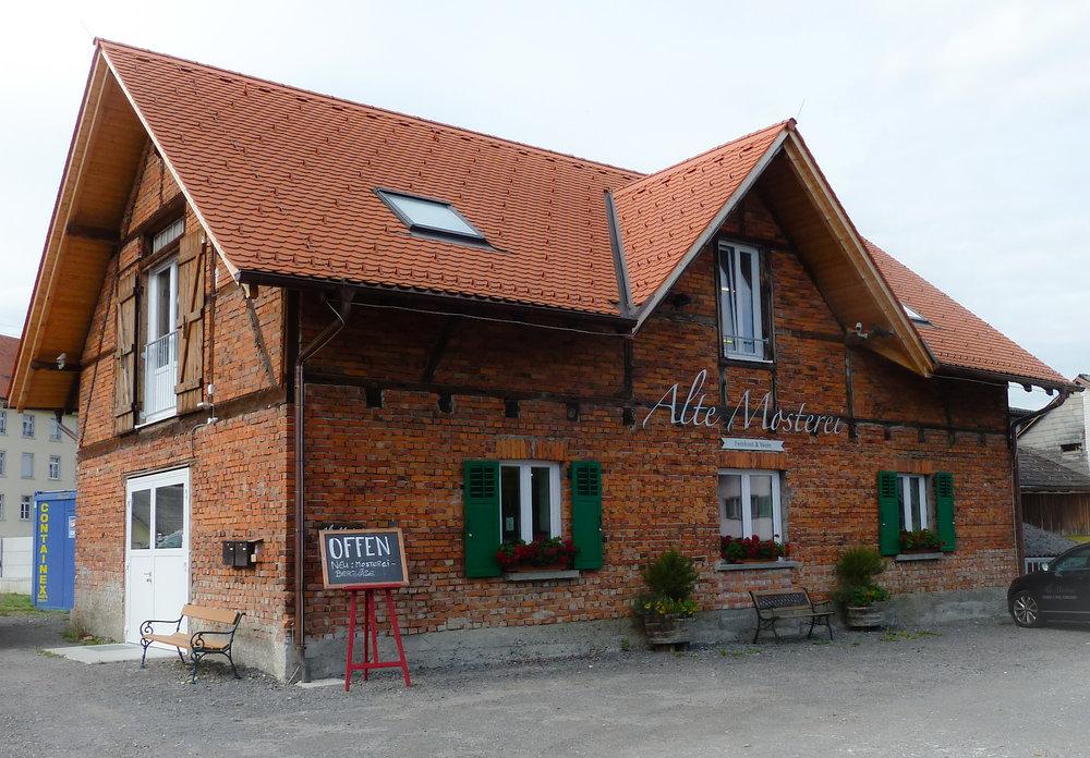 """""""Alte Mosterei"""" im Oberdorf in Kennelbach"""