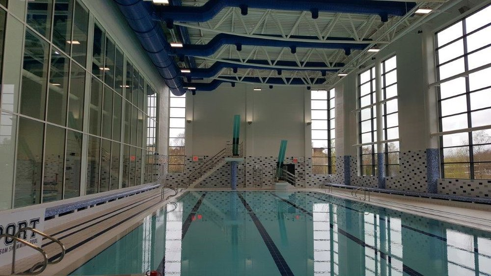 UL Sports Arena Training and Diving Pool