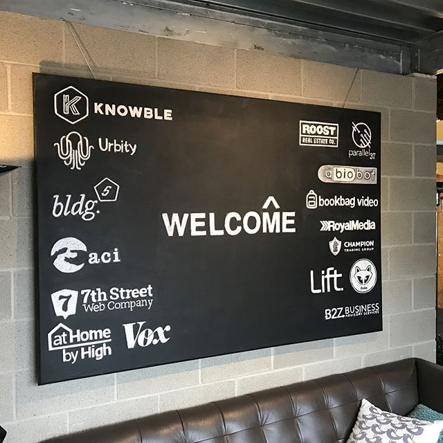 Great afternoon yesterday spending time with folks @coworkcolumbus ! Thanks to @philbirnie for the #coffee and hospitality.
