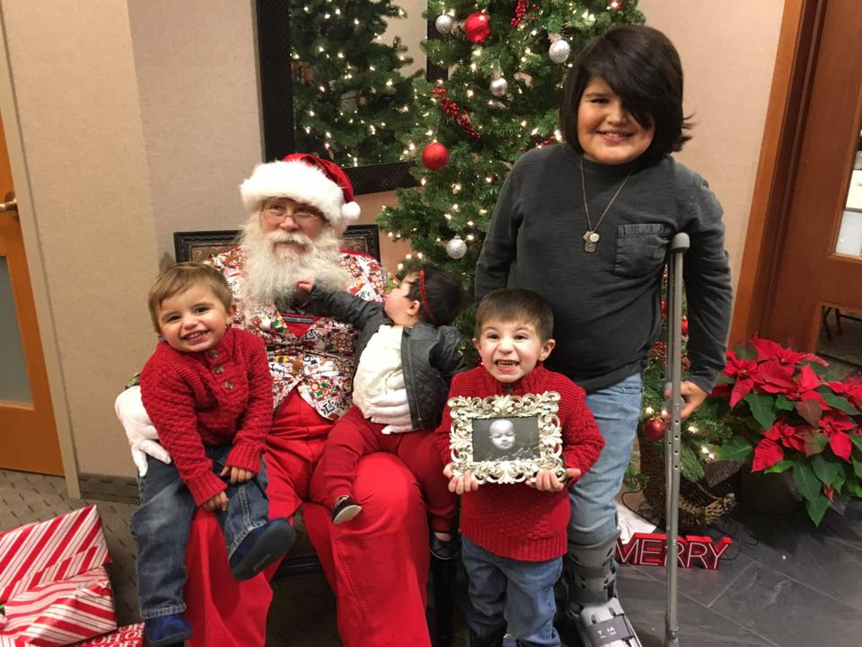 """Thank you, Tradition Wealth Management, LLCTradition Mortgage & Tradition Capital Bank, for throwing this awesome Christmas party and giving awesome gifts to our HopeKids!"""