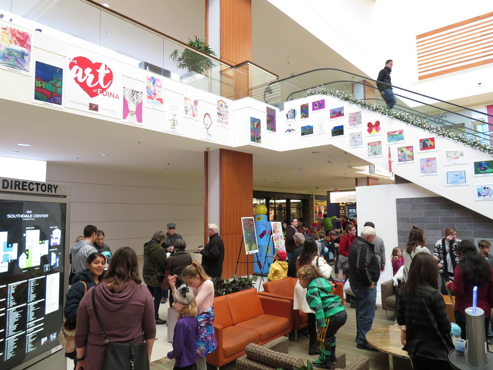 Southdale Concord Elementary Art Show    2016