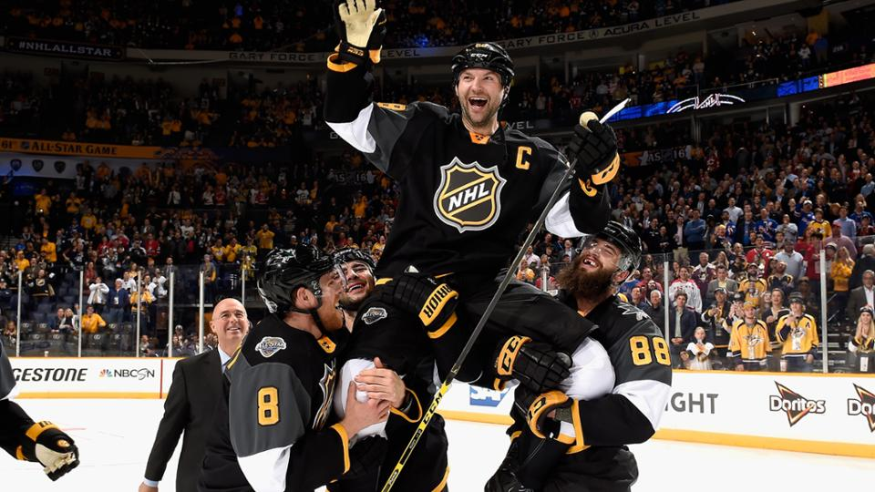 John Scott 2016 NHL All Star Game MVP