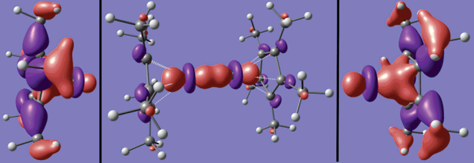 Density Functional Theory Investigation of Decamethyldizincocene                                                                     James W. Kress                                               KressWorks, Northville, Michigan 48167                                       J. Phys. Chem. A, 2005, 109 (34), pp 7757–7763                                                           DOI :  10.1021/jp051065x